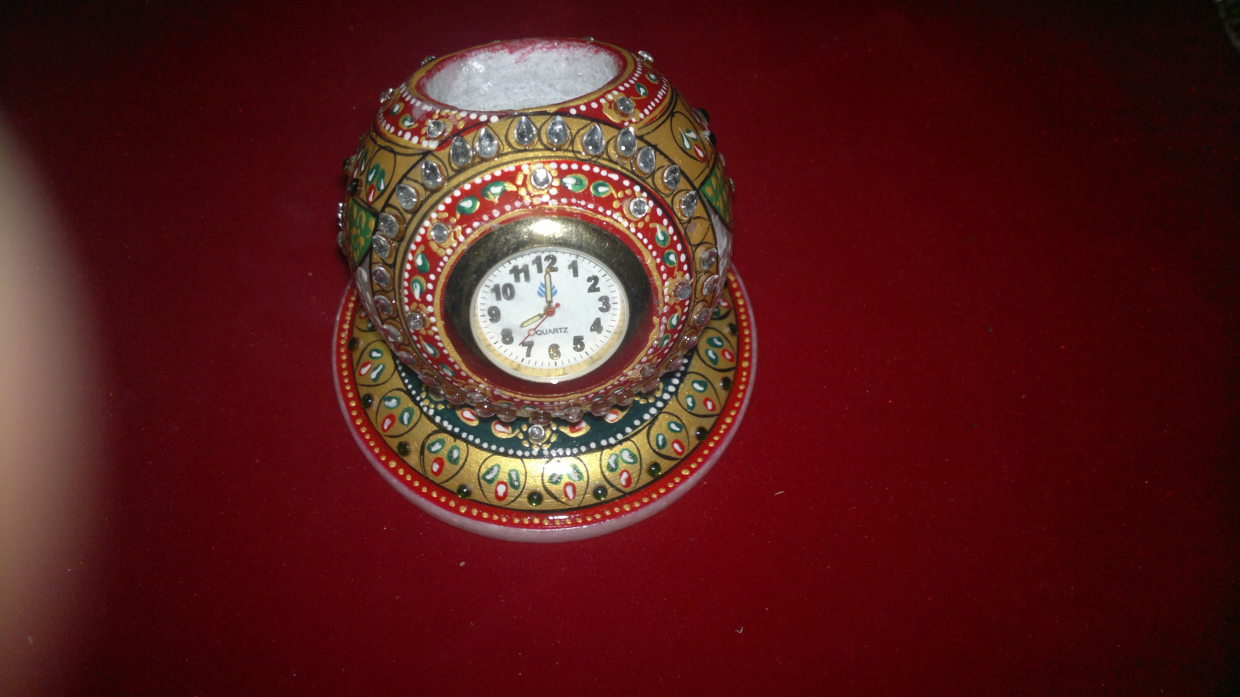 marble table clock wholesalers