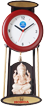 Marble Wholesalers Jaipur, Marble clock with ganesha Wholesalers